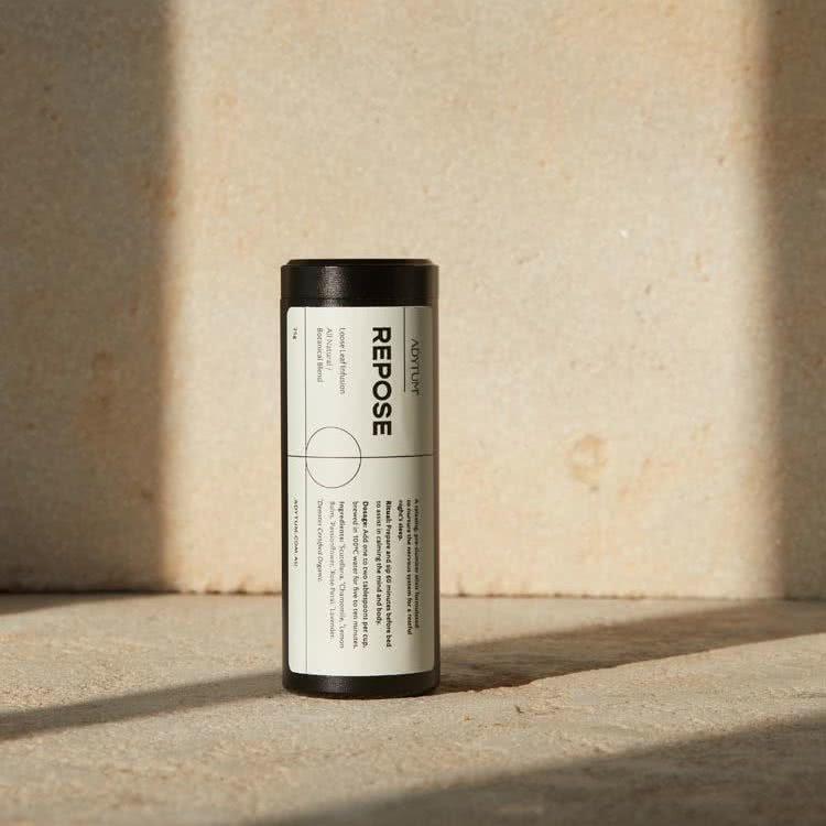 Adytum tea packaging