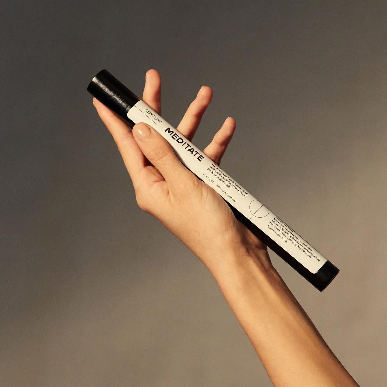 Adytum incense packaging