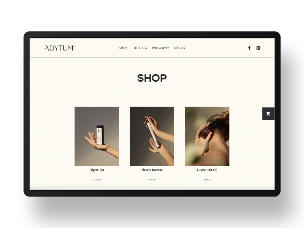 Adytum website