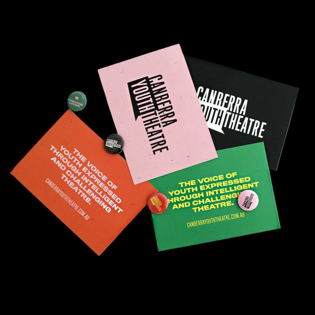 CYT Postcards and badges